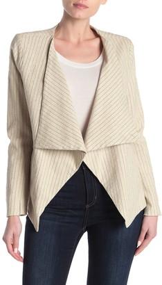 Blanknyc Denim All Natural Pinstriped Jacket