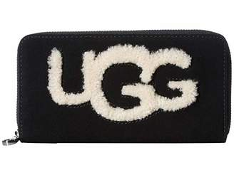 UGG Honey Zip Around Wallet Sheepskin