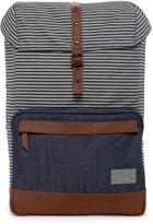 Hex Accessories Stinson Print & Denim Backpack