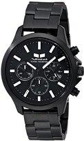 Vestal Unisex HEI3CM02 Heirloom Chrono Analog Display Analog Quartz Black Watch