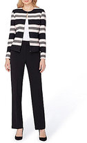 Tahari ASL Striped 2-Piece Pant Suit