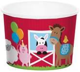Creative Converting 8ct Farm Fun Treat Cups