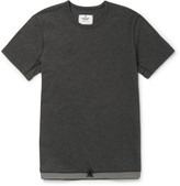 Reigning Champ - Slim-fit Drawstring-hem Cotton T-shirt