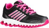K-Swiss Girls' X-160 Sneaker - Little Kid - Black/Black/Neon Pink Cross Training Shoes