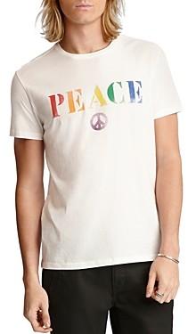 John Varvatos Cotton Pride Peace Graphic Tee