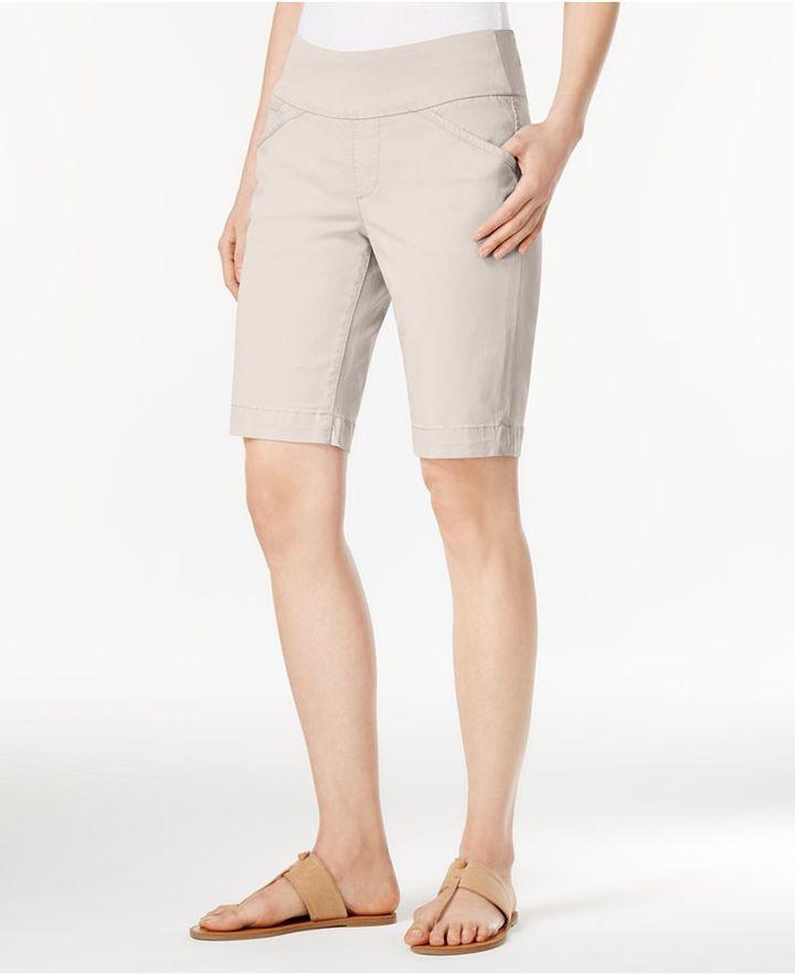 Jag Ainsley Bermuda Pull-On Twill Shorts