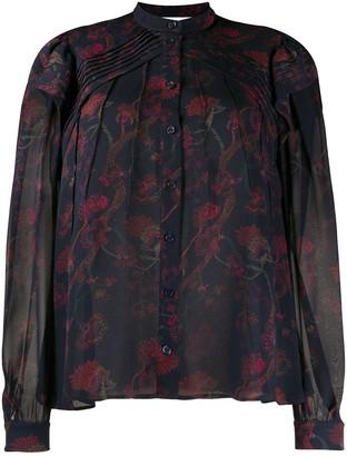 Chloé chiffon printed blouse