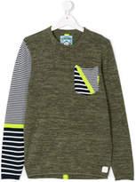 Vingino striped detail jumper
