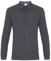 Sunspel Riviera Mesh-cotton Shirt