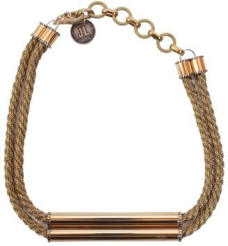 Lanvin Chain Application Necklace