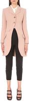 Alexander McQueen Single-breasted wool-blend coat