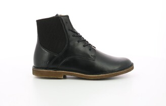 Kickers Titi Leather Ankle Boots