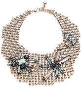 Lulu Frost Cité Chain Link Bib Necklace