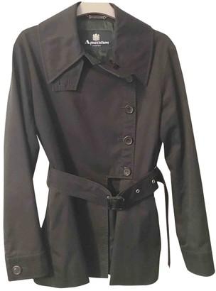 Aquascutum London Black Trench Coat for Women