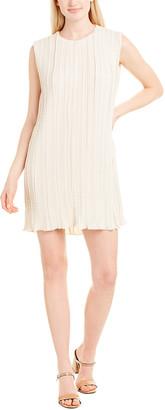 The Row Claudia Silk-Lined Shift Dress