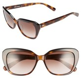 Bobbi Brown Women's Bobbie Brown The Koko 55Mm Cat Eye Sunglasses - Blonde Tortoise