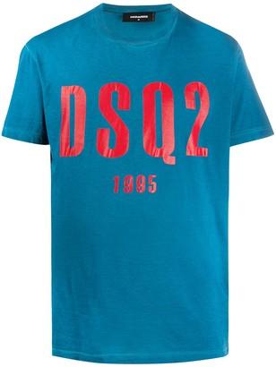 DSQUARED2 graphic logo-print T-shirt