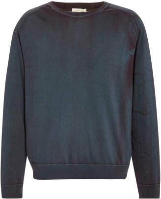 Massimo Alba Distressed Cotton Sweatshirt
