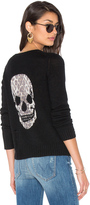 360 Sweater Raj Cashmere Skull Sweater