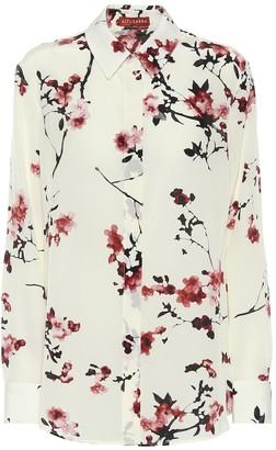 Altuzarra Chika floral silk blouse