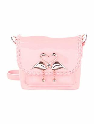 Sophia Webster Leather Claudie Bag Coral