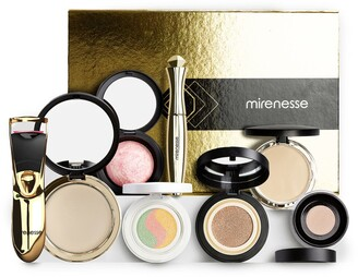 Mirenesse Royal Golden Limited Edition Collection Makeup Collection - 8-Piece Set