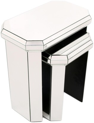 Plinth MirroredNest of 2Tables