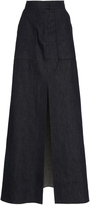 Martin Grant Maxi Denim Skirt