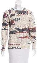 Etoile Isabel Marant Printed Pullover Sweatshirt
