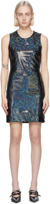 Saks Potts Black Shimmer Vision Dress