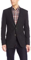 Calvin Klein Men's Twill Washed Wool Slim-Fit Sport Coat