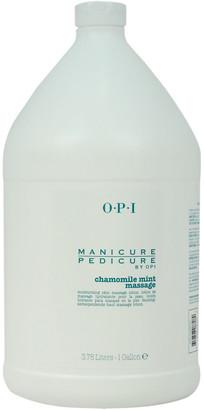 OPI Unisex 128Oz Manicure Pedicure Chamomile Mint Massage Lotion