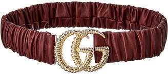 Gucci Torchon Gg Leather Belt