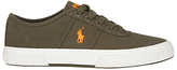 Polo Ralph Lauren Tyrian Canvas Low-top Trainers