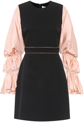 Roksanda Silk-blend blouson sleeve dress