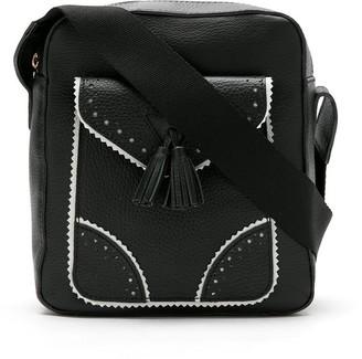Sarah Chofakian Dash leather shoulder bag