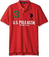 U.S. Polo Assn. Men's Team Pique Polo Shirt
