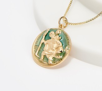 Kirks Folly St. Christopher Guide & Protect Adjustable Necklace