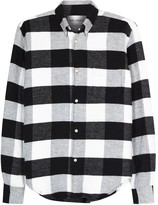 Our Legacy 1950s Checked Flannel Shirt
