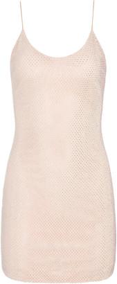 Alice + Olivia Nelle Crystal Embellished Mini Dress