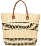 San Diego Hat Company Women's Straw Tote BSB1362 - Natural Shoulder Bags