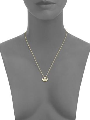 Amrapali Chandrima Topaz & 18K Yellow Gold Crescent Necklace