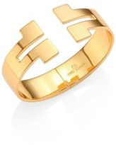 Tory Burch Tunic-T Wide Hinge Cuff Bracelet