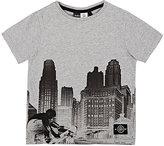 Molo Kids City Skyline Cotton Jersey T-Shirt