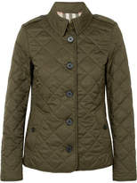 Burberry Quilted Shell Jacket - Green