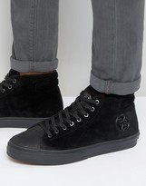 Paul Smith Mcgee Suede Hi Top Trainers