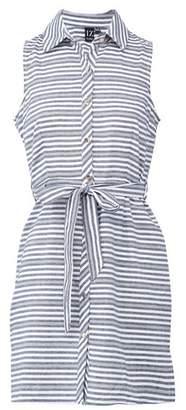 Dorothy Perkins Womens *Izabel London Multi Colour Striped Tie Waist Shirt Dress