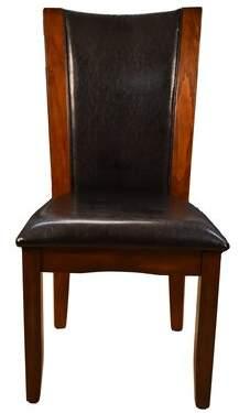 Titania Latitude Run Upholstered Dining Chair Latitude Run Upholstery Color: Espresso