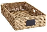 Pier 1 Imports Bryant Underbed Large Wicker Basket with Chalkboard