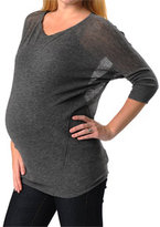 Vince Apeainthepod 3/4 Sleeve Dolman Sleeve Maternity Sweater